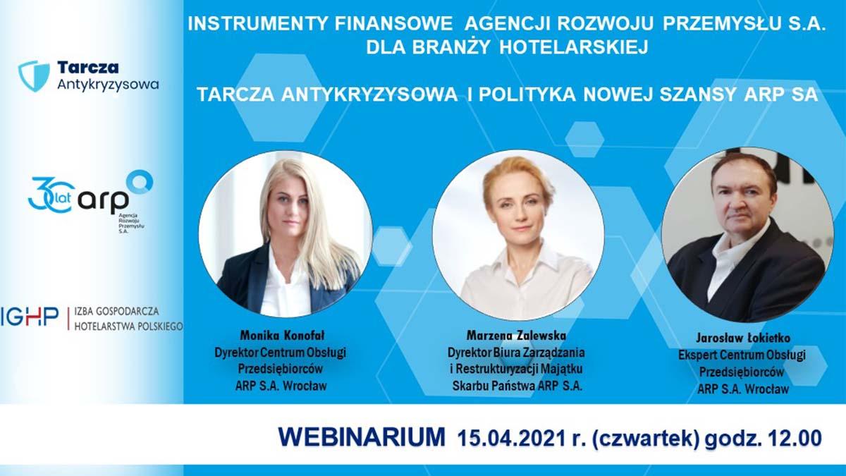 Spotkanie online, organizowane wspólnie Izbą Gospodarczą Hotelarstwa Polskiego